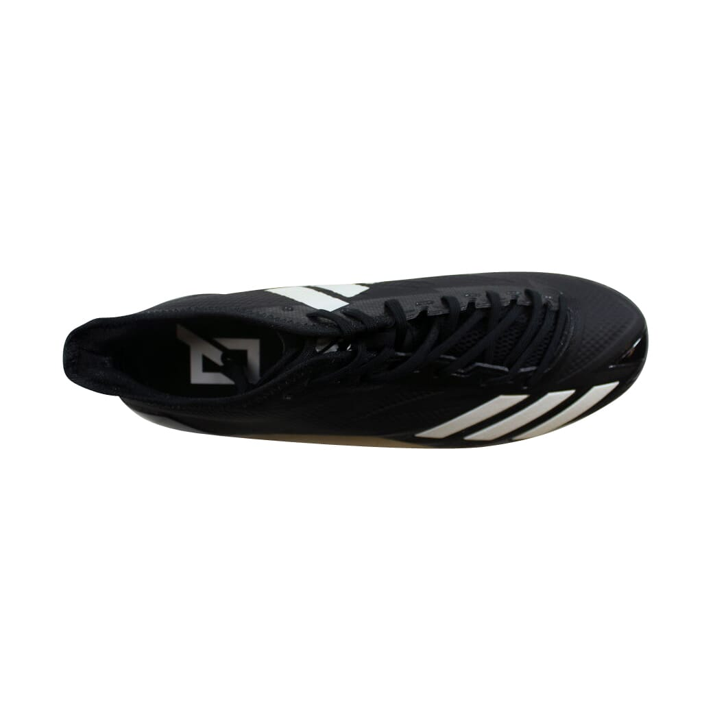 c7759d7bbb79 Adidas Adizero 5-Star 6.0 Black Silver Metallic-White BW1083 Men s ...
