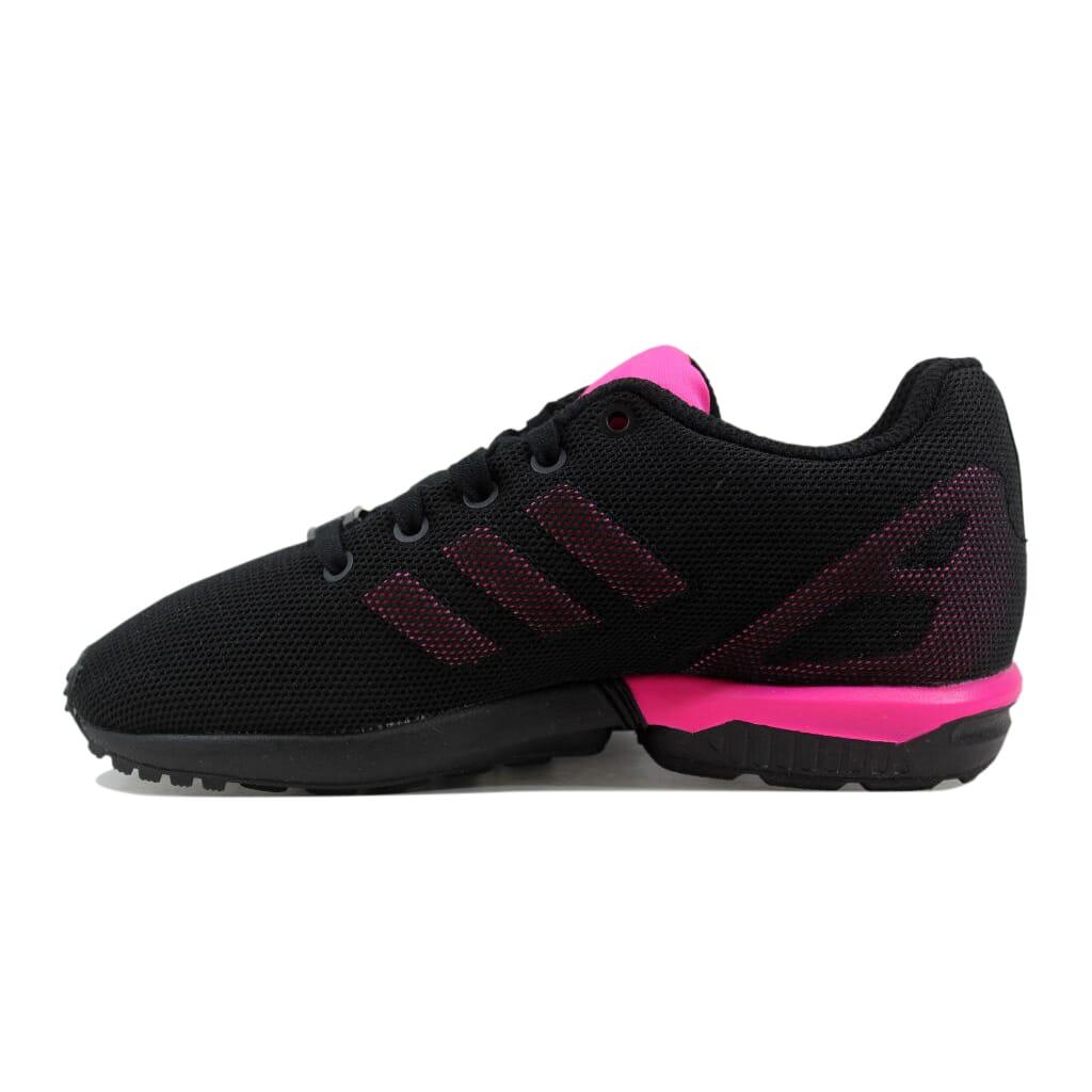 fde44c5e24922 Adidas ZX Flux K Black Pink S74954 Pre-School SZ 13Y 889130461260