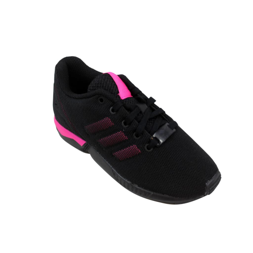 894a917bd12f1 Adidas ZX Flux K Black Pink S74954 Pre-School Size 12Y 889130461406 ...