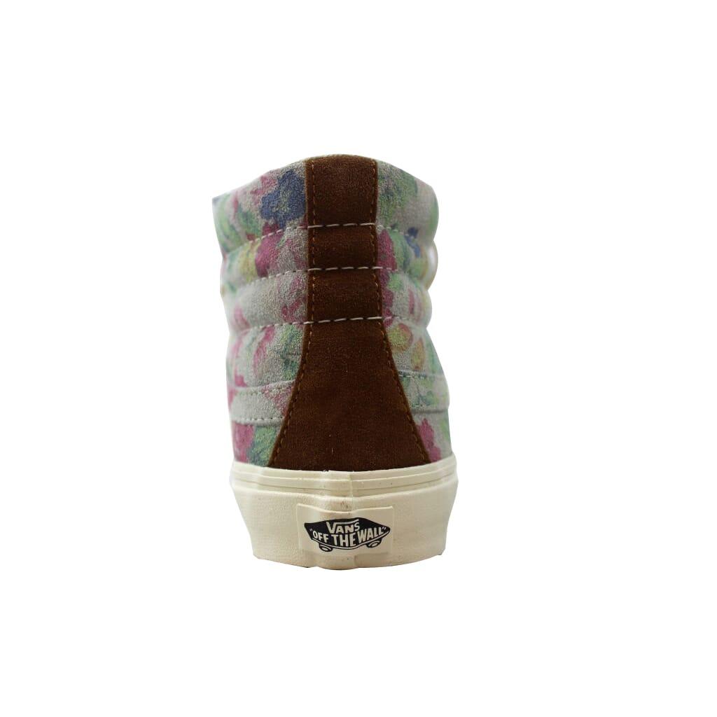 0af9e1729d Vans Sk8-Hi Slim Suede Floral Marshmallow Men s VN-0XH7EH5 Size 5 Medium