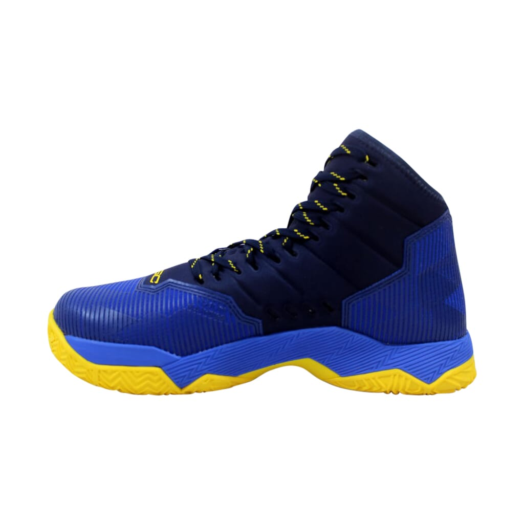 142c9b951108 Under Armour GS Curry 2.5 Team Royal Navy-Taxi Yellow 1274062-400 GS ...