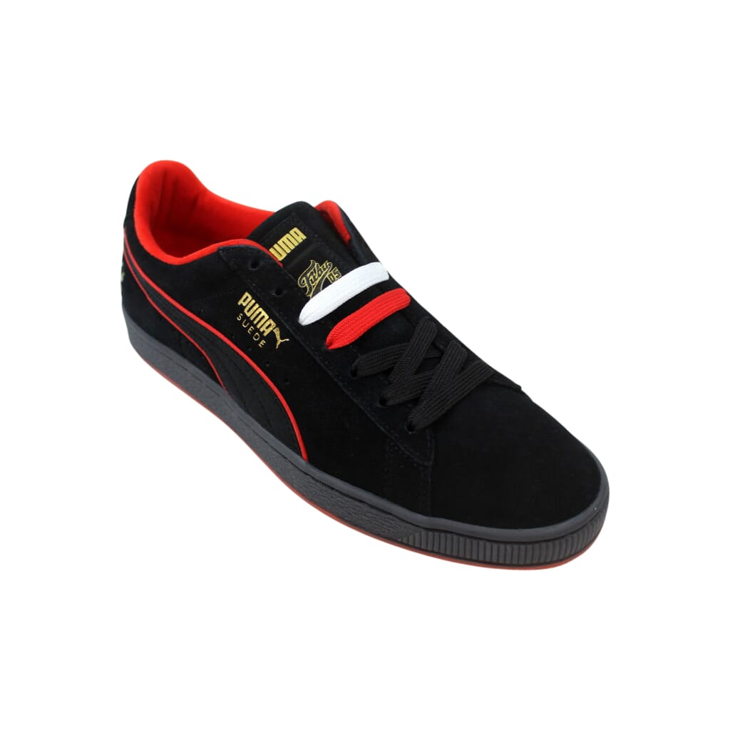 c816dc8dbc8781 Puma Suede Classic X Fubu Puma Black High Risk Red 366320 02 Men s ...