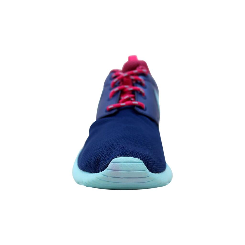 04e882d1dd044 Nike Roshe One Insignia Blue Copa-Vivid Pink 599729-406 Grade-School ...