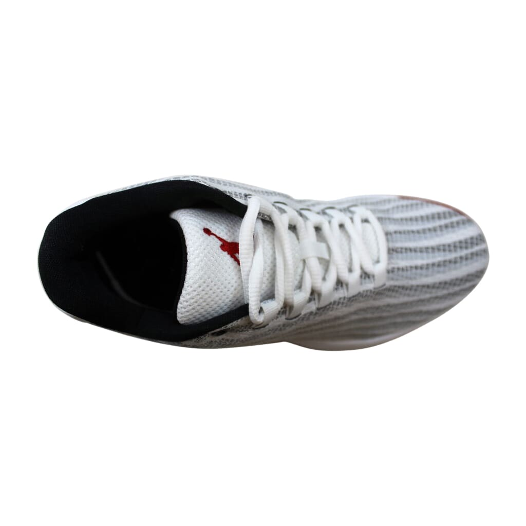 8f970ecf2c9 Nike Air Jordan B Fly BG White Gym Red-Black 881446-101 Grade-School ...