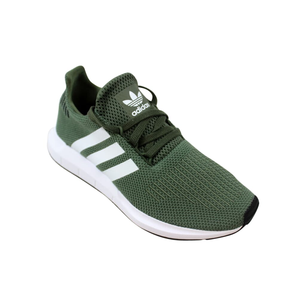 55c83644160e3 Adidas Swift Run W Green White-Black AQ0866 Women s Size 6 ...
