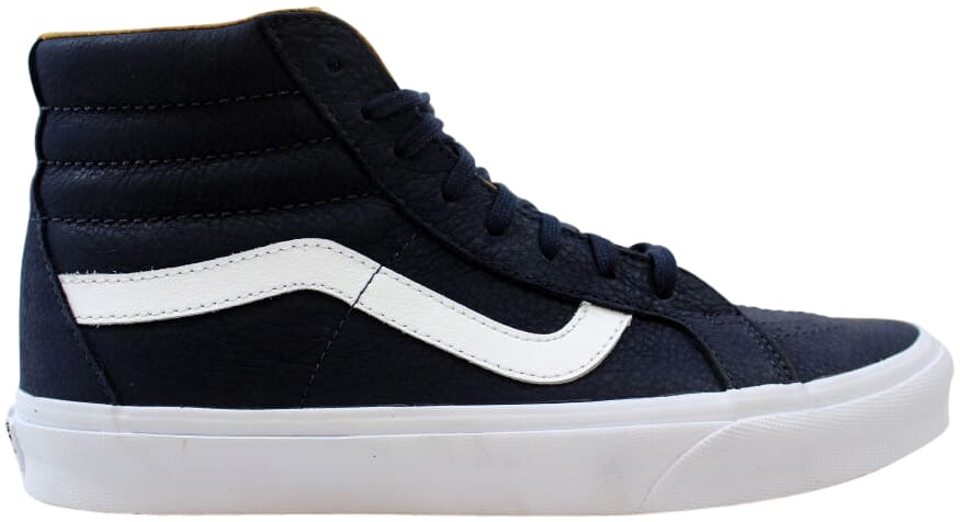 a97c38e8d3 Vans Sk8-Hi Reissue Premium Leather Navy White VN0A2XSBMRU Men s