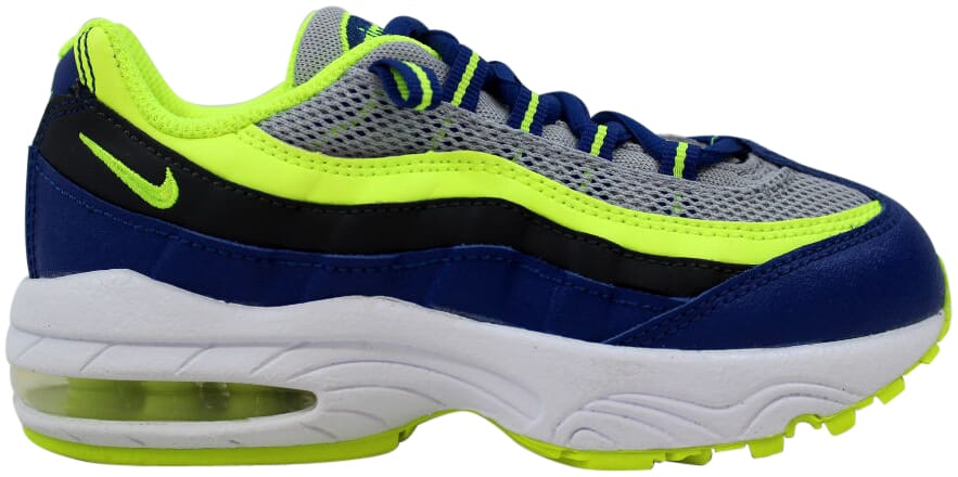 4b58dfbfe4 Nike Air Max 95 PS Wolf Grey/Volt-Gym Blue-White 311524-084 PS Size ...