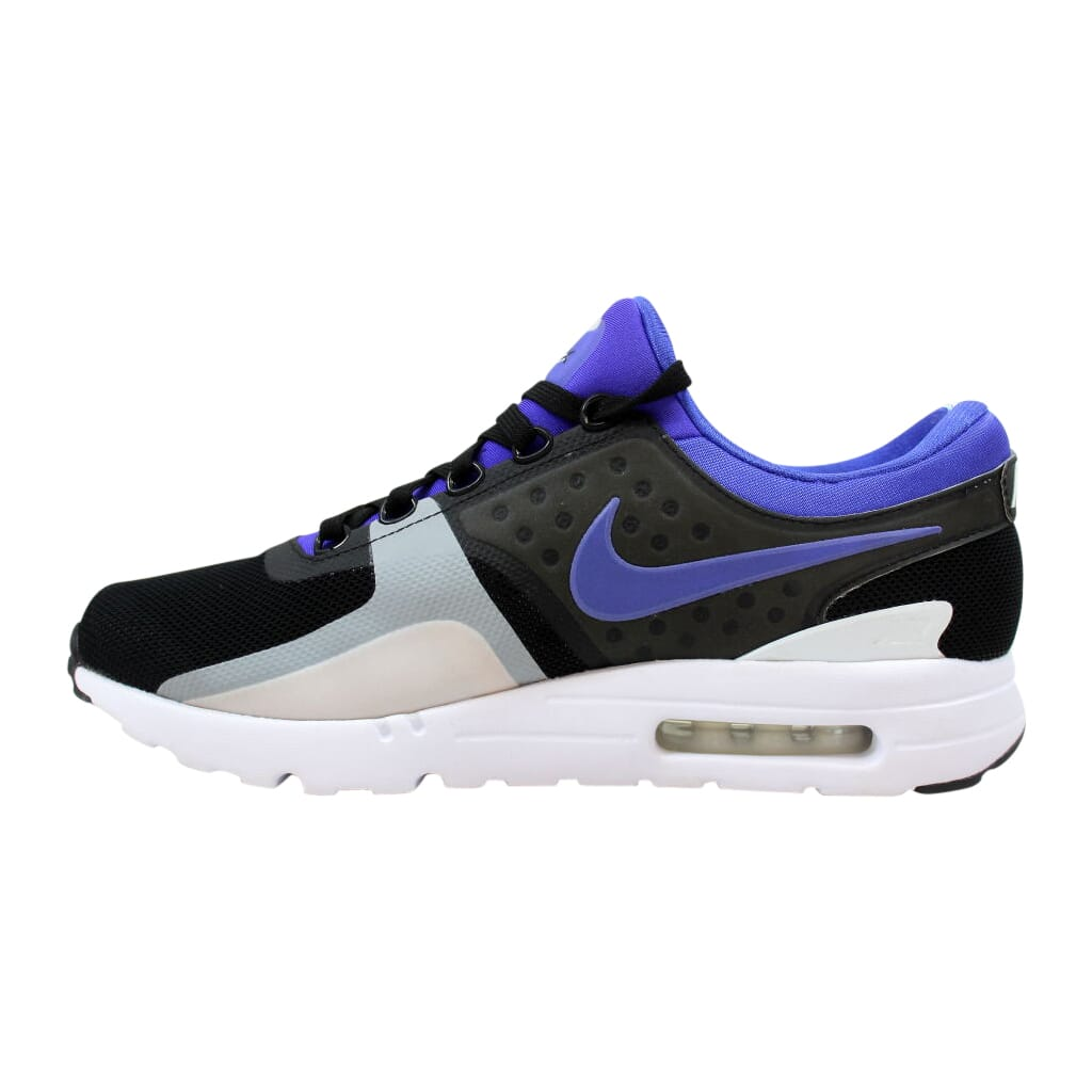 Details about Nike Air Max Zero QS BlackPersian Violet White 789695 004 Men's Size 9.5