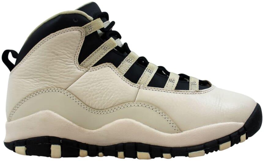 6cdfe5296058 Nike Air Jordan X 10 Retro Premium GG Pearl White Black Heiress ...