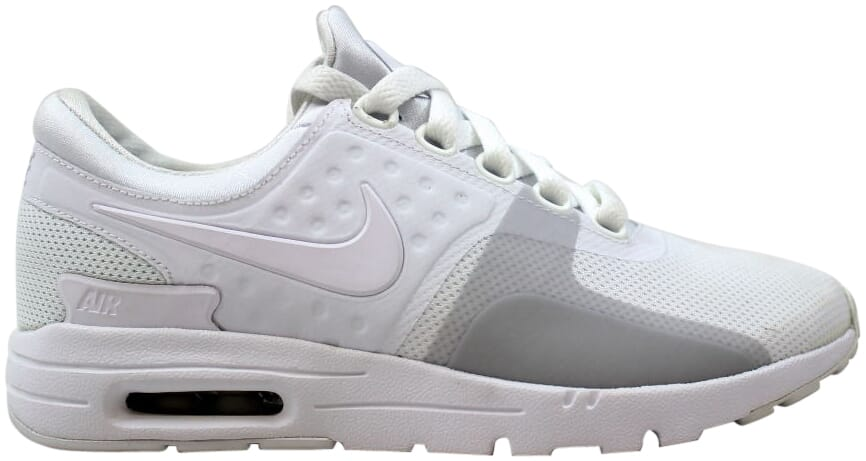 Details about Nike Air Max Zero WhiteWhite Pure Platinum 857661 104 Women's Size 8