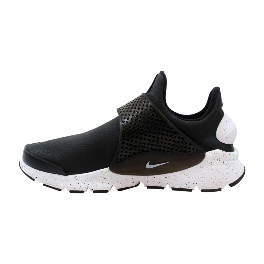 8ae3bb7a54a32 Details about Nike Sock Dart Premium Black/White-Black 881186-001 Women's  Size 6