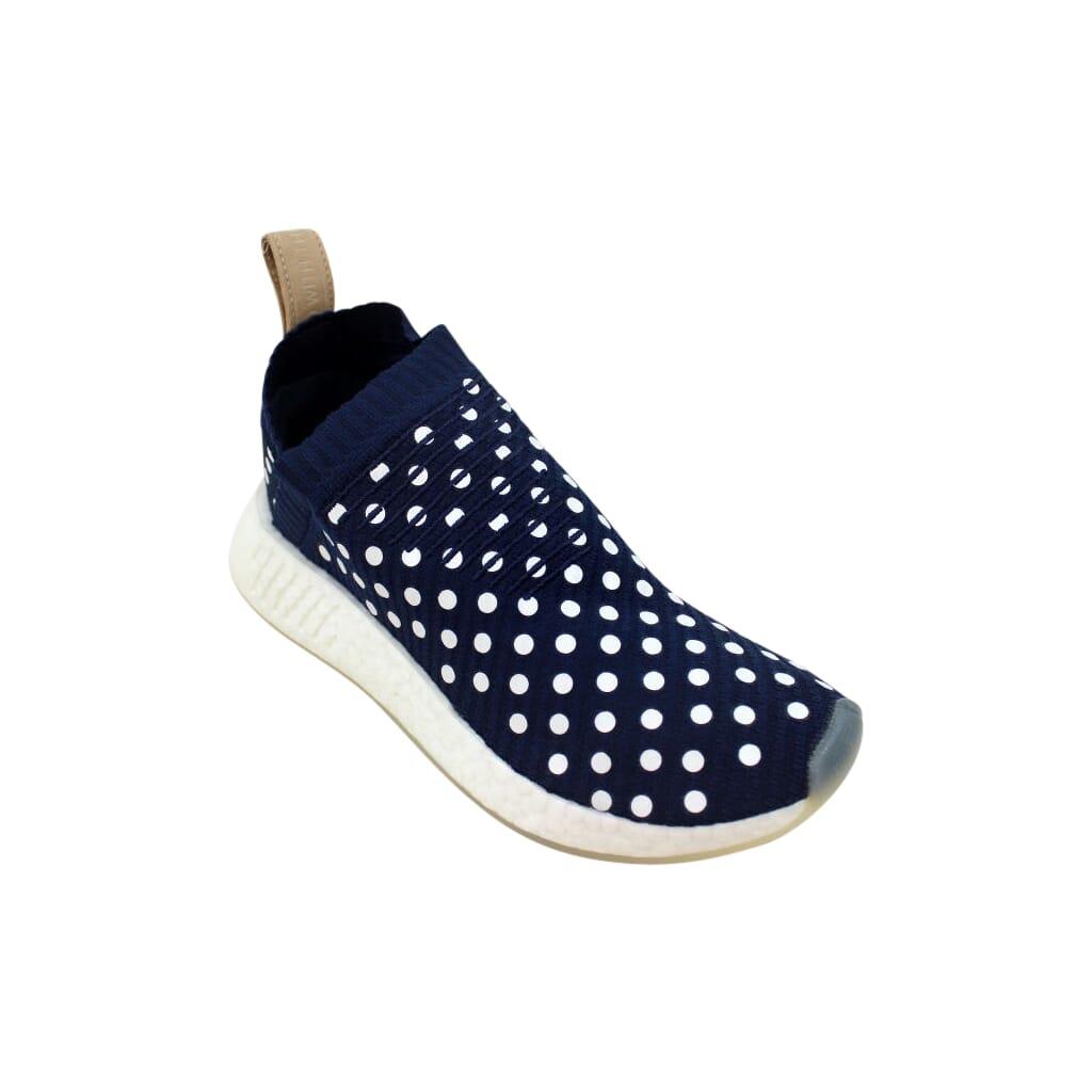 adfbbf9673c95 Adidas NMD CS2 Primeknit W Navy Blue White Ronin BA7212 Women s Size ...