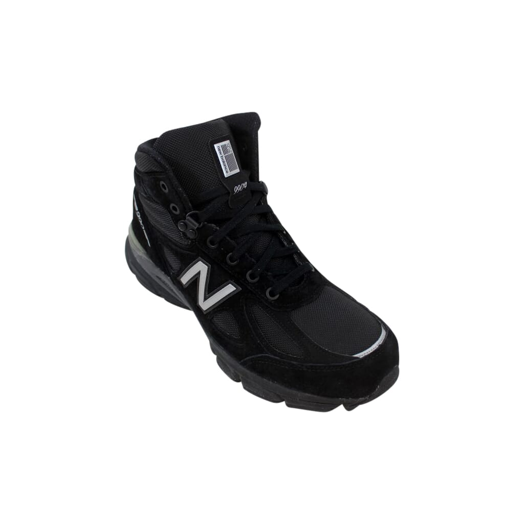 differently e650b 6a37b Details about New Balance 990 Mid Boot Black/Grey MO990BK4 Men's Size 9.5