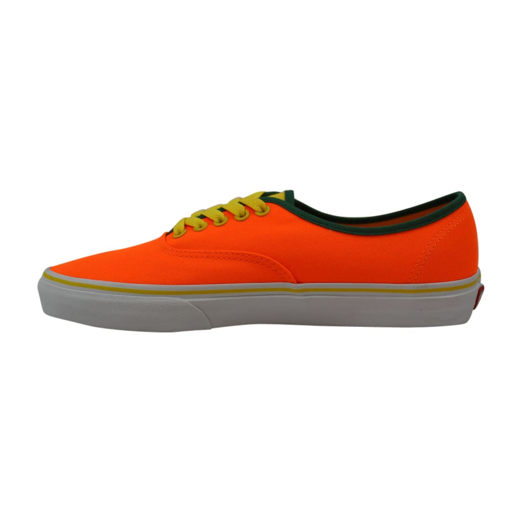 Details about Vans Authentic Neon Orange/Cyber Brite VN0004MLJOF Men's