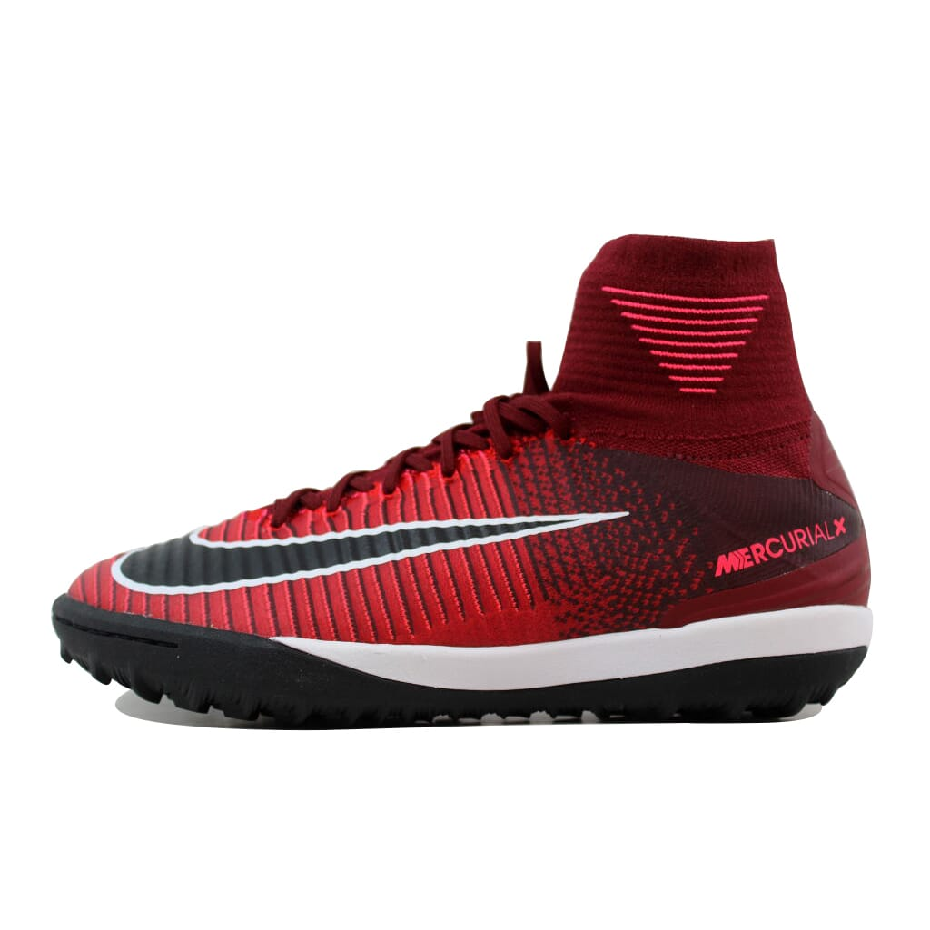 0db7b5472 Nike Mercurial X Proximo II 2 DF TF Team Red Black-Racer Pink 831977-606  Men s Size 10.5