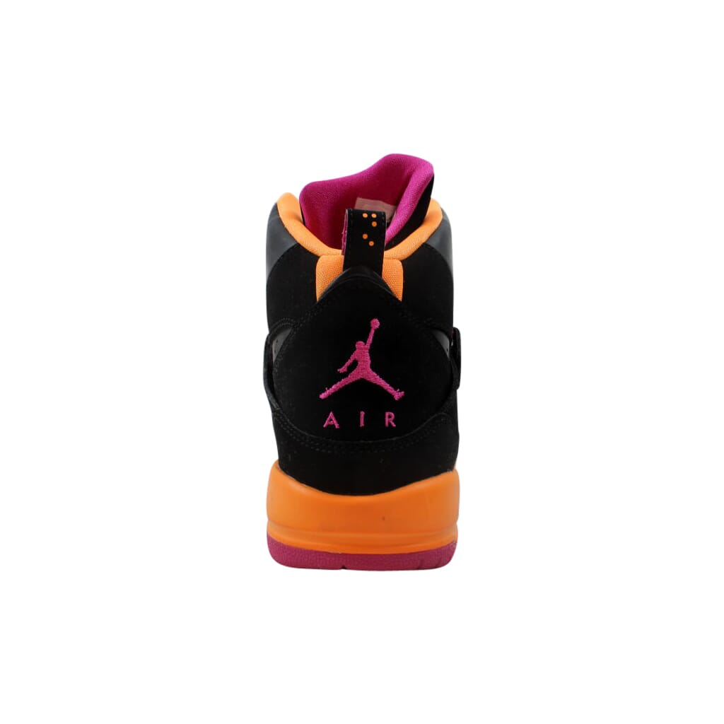 0631e0ac878d4 Nike Air Jordan Flight 45 High GS Black/Fusion Pink-Cool Grey-Bright Citrus  524864-028 Grade-School Size 5.5Y