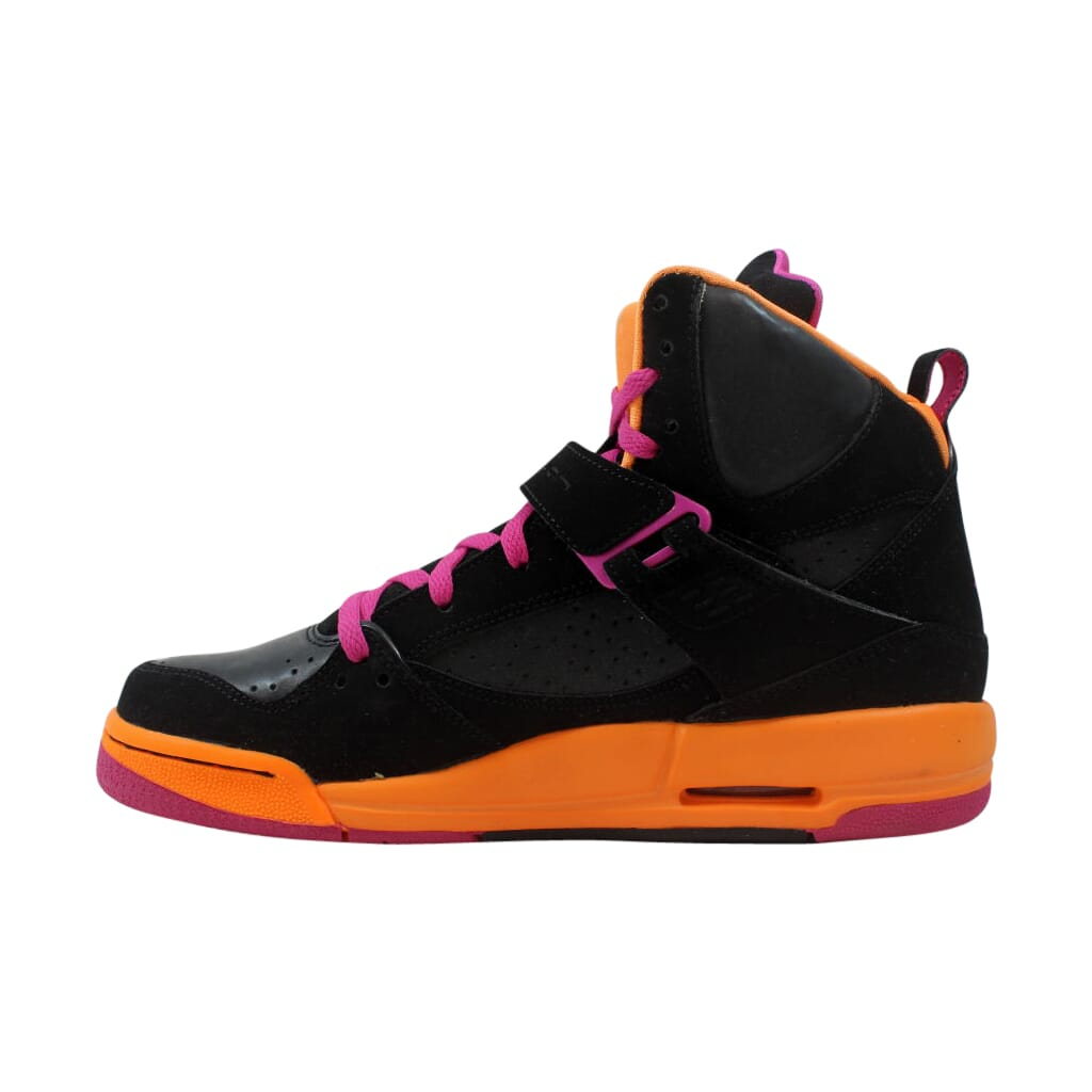 bd9b004dbd826 Nike Air Jordan Flight 45 High GS Black/Pink-Grey-Citrus 524864-028 ...
