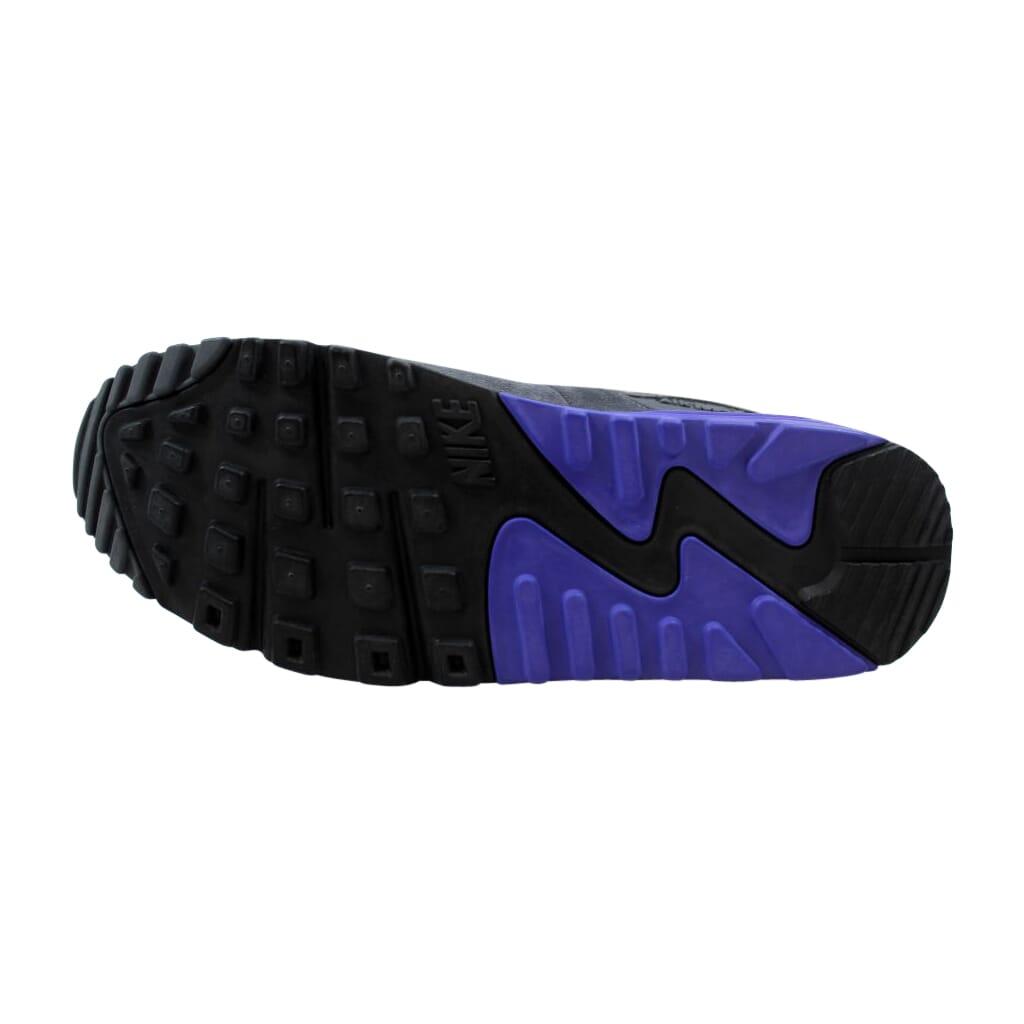 Details about Nike Air Max 90 Essential WhiteSilver Dark Grey 537384 122 Men's Size 9.5