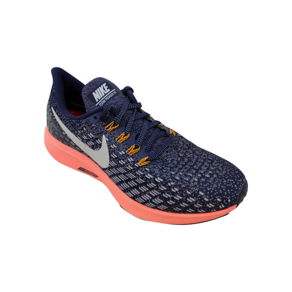 Nike Women's Air Zoom Pegasus 35 Running Shoes (Blackened BlueMoon Particle 402), Size 10.5 US Women