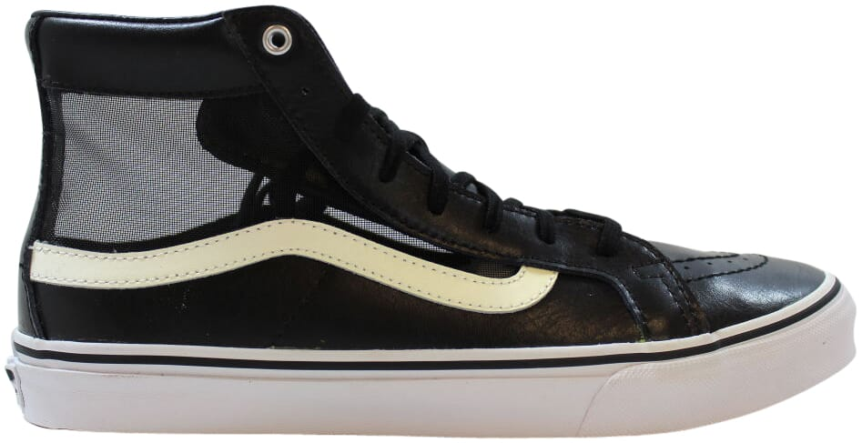 amazing selection great quality quality first VANS off The Wall Sk8 Hi Slim Cutout Mesh Black White Shoes Mens 8.5 Womens  10