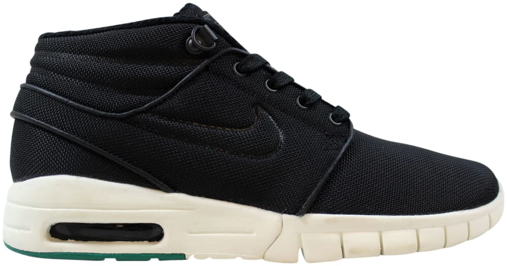 Nike-Stefan-Janoski-Max-Mid-Black-Black-Neptune-Green-807507-003-Men-039-s-Size-5-5