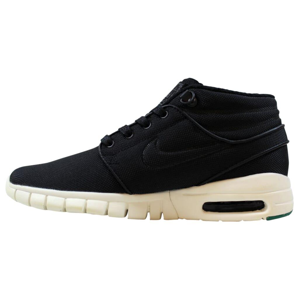 Nike-Stefan-Janoski-Max-Mid-Black-Black-Neptune-Green-807507-003-Men-039-s-Size-5-5 thumbnail 2