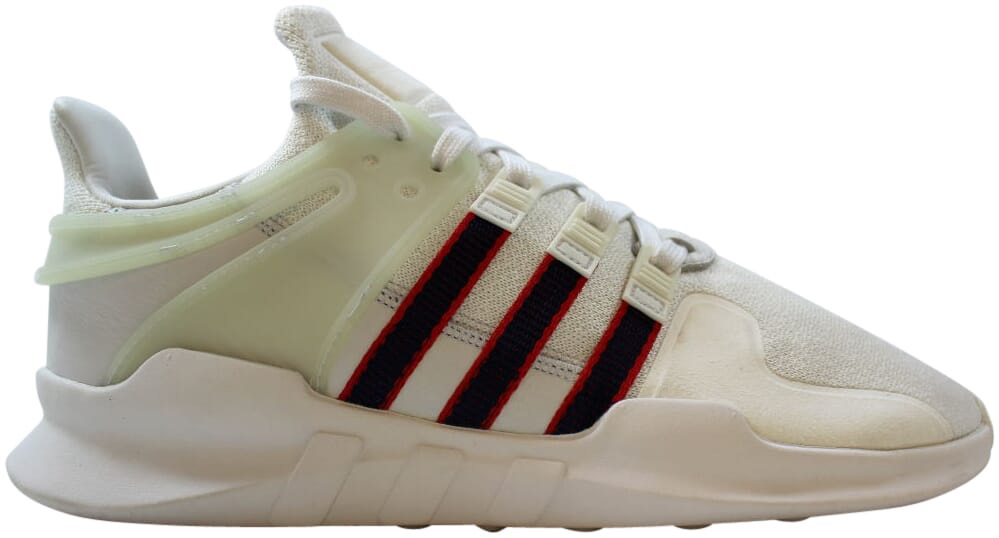 Adidas-EQT-Support-ADV-White-Navy-Scarlet-Red-BB6778-Men-039-s-Size-9-5