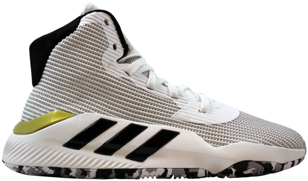 Adidas Pro Bounce 2019 Footwear White/Core Black-Gold Metall