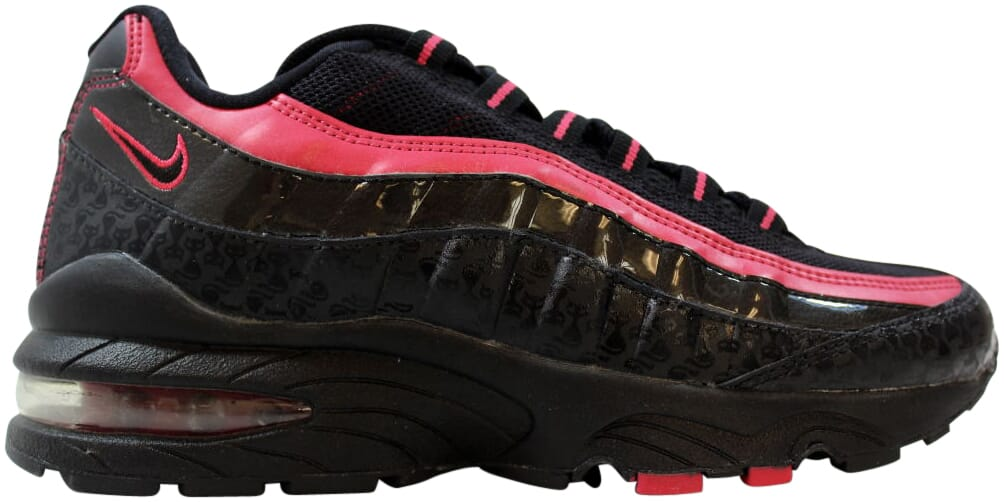 Black 310830-001 New Nike Youth Air Max 95 LE GS Shoes Black-Berry
