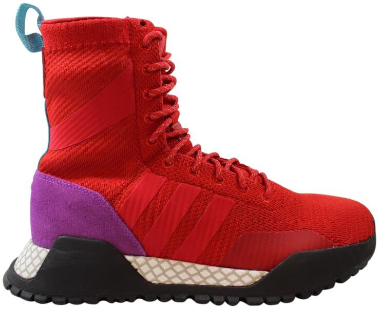 Adidas-AF-1-3-Primeknit-Scarlet-Red-Purple-BZ0611-Men-039-s-Size-8-5