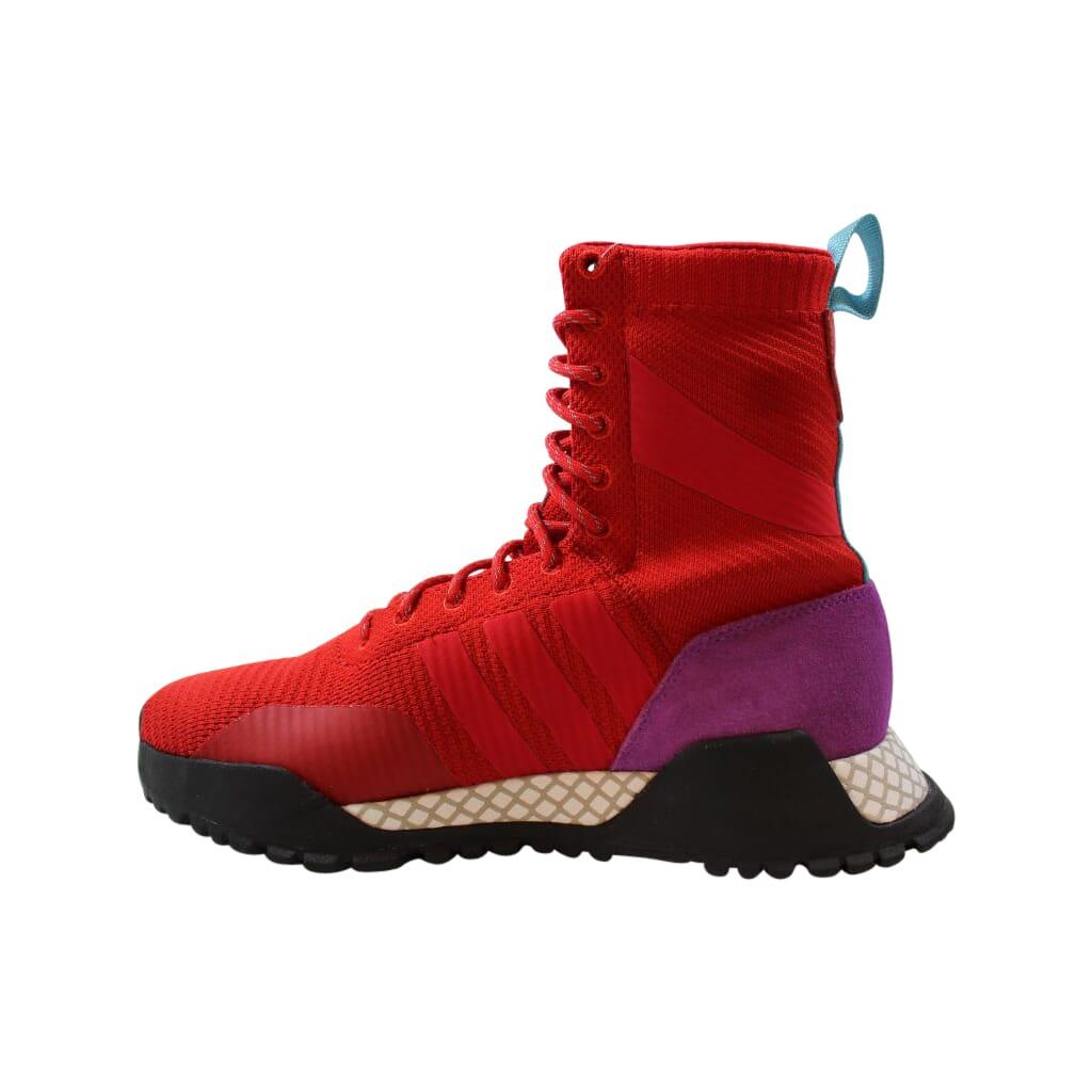 Adidas-AF-1-3-Primeknit-Scarlet-Red-Purple-BZ0611-Men-039-s-Size-8-5 thumbnail 2