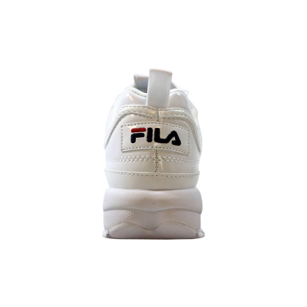 fila basket disruptor blancos