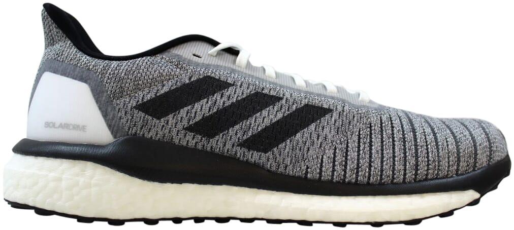 Adidas-Solar-Drive-M-White-Black-Grey-D97441-Men-039-s-Size-9