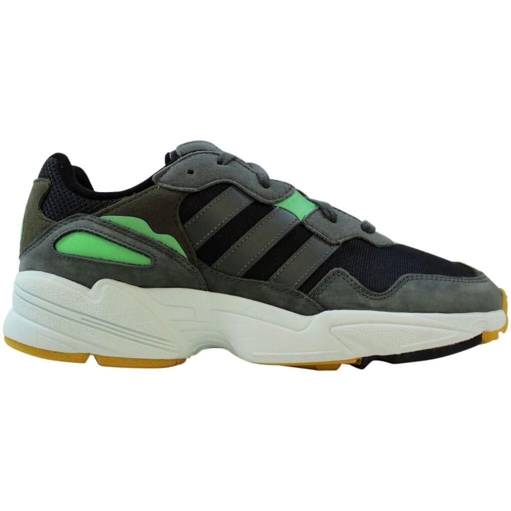 [F35018] Adidas Yung-96 Black/Ivy Green Men's