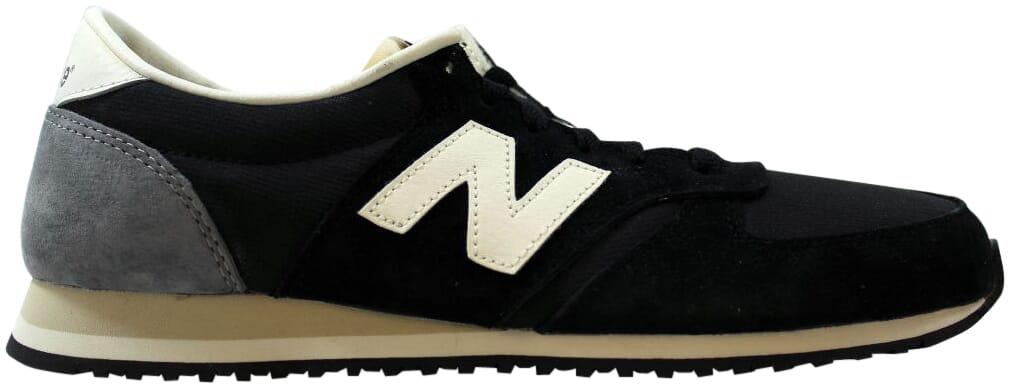 New balance 420 Clásico Negro/Gris-Off Blanco U420RKG para hombre   eBay