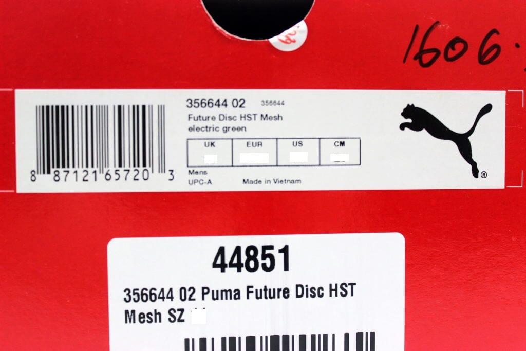 243803649d5 Puma Future Disc HST Mesh Electric Green 356644 02 Men s SZ 11 ...