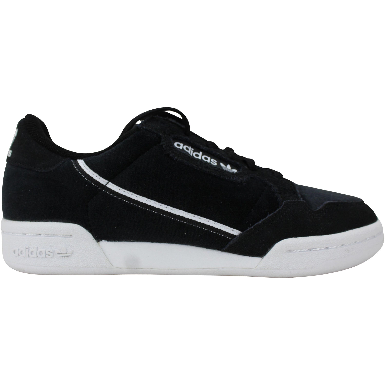 [EE6412] Adidas Continental 80 J Core Black/Foot White Men's