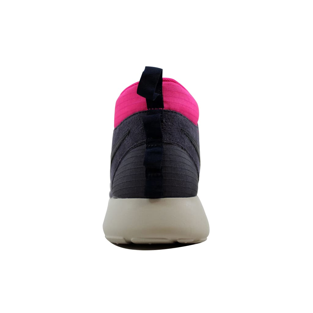 27f0260d1cec Nike Roshe Run Sneakerboot Gridiron Obsidian-Pink Floral-Volt 615601 ...