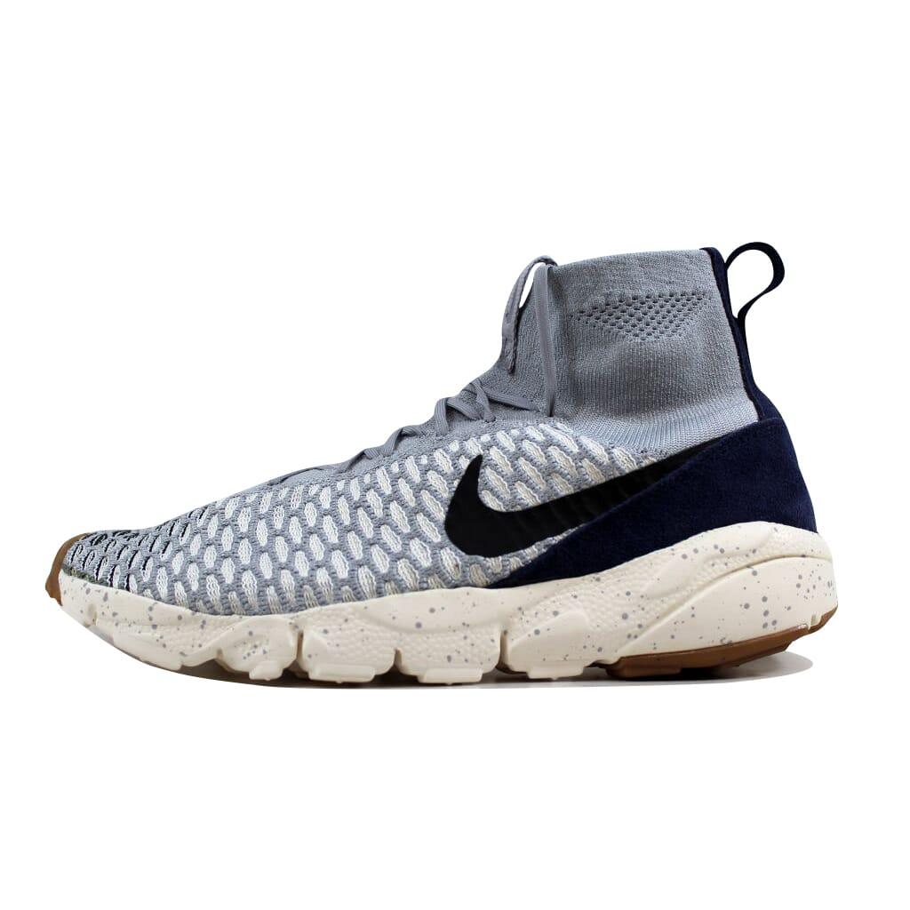 uk availability 93be9 87146 Nike Air Footscape Magista Flyknit Grey Black-Sail-Obsidian 816560-001 SZ  11.5