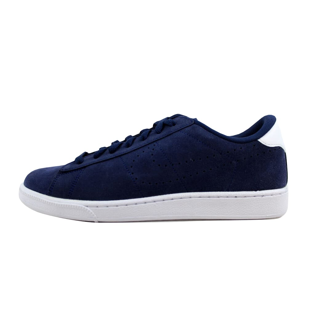 reputable site b8dc5 546a5 Nike Tennis Classic CS Suede Midnight Navy Midnight Navy-White 829351-401  Men s Size 8