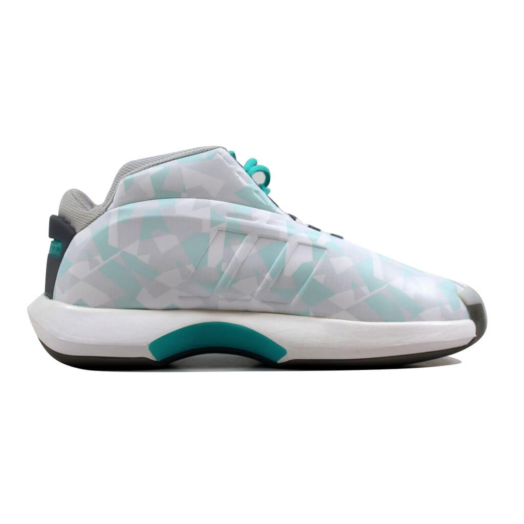 f922e279a19 Adidas Crazy 1 White Vivid Mint-Soft Mint C75738 Men s SZ 8.5 ...