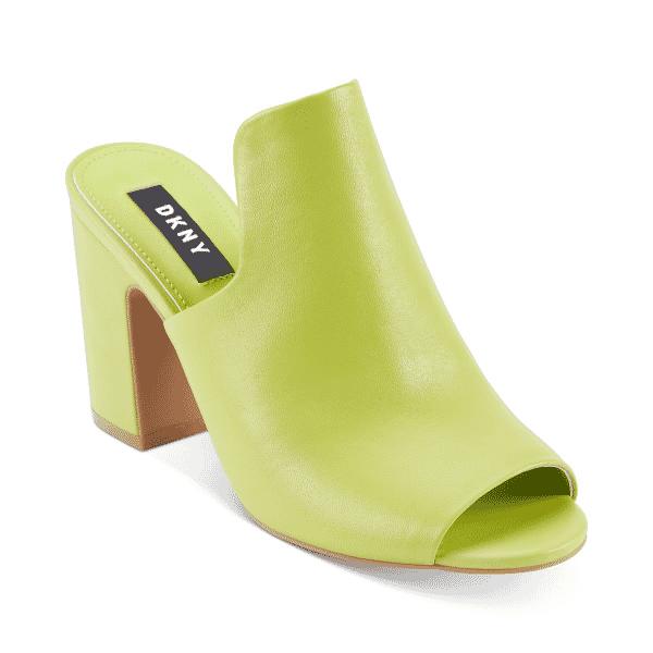 DKNY Hester Mule Sandals Lime | eBay
