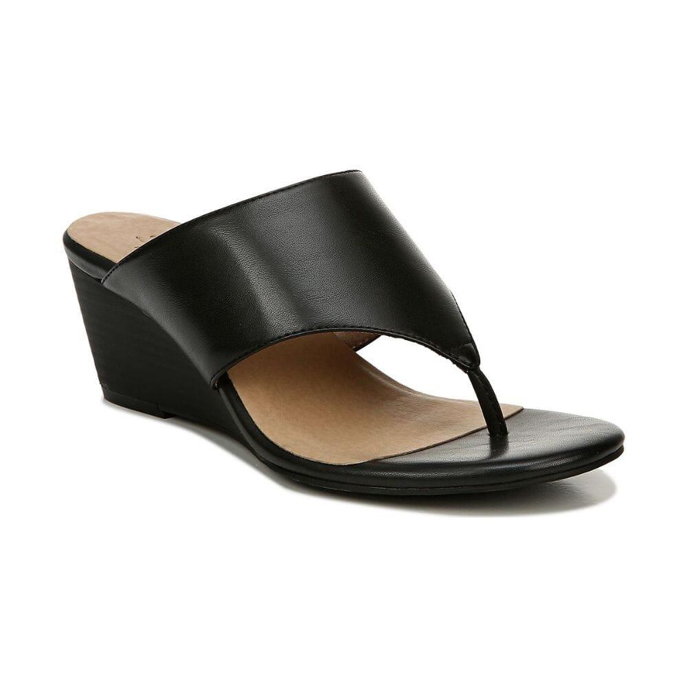 M2006 New Womens Naturalizer Juniper Black Sandals Size