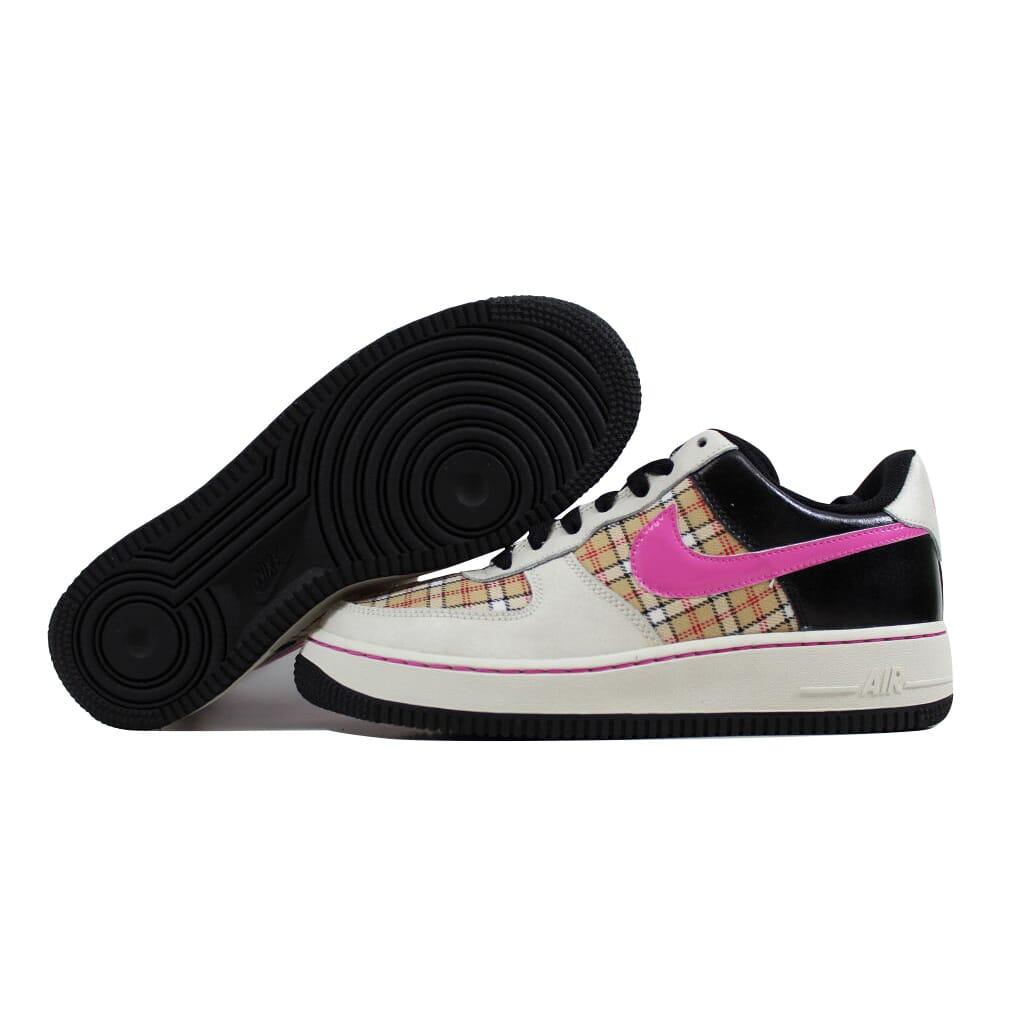 311516dfef7ff Nike Air Force 1 Sail Pink-Black 314219-164 Grade-School SZ 6Y