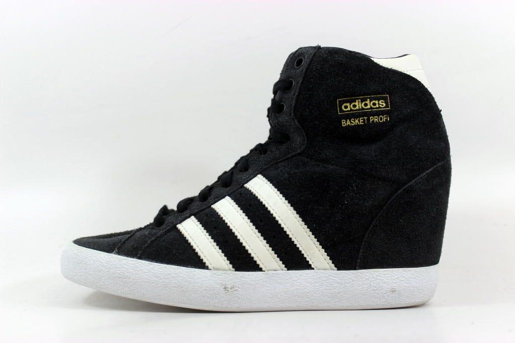 Adidas Basket Profi Up W Black White G95650 Women s SZ 6 ... 7eb9941495d32