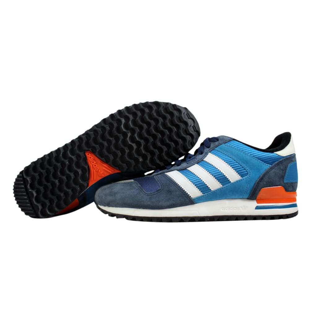 Adidas ZX 700 Dark Slate White-Orange M25838 Men s SZ 8 887780056423 ... bba5ca7ef