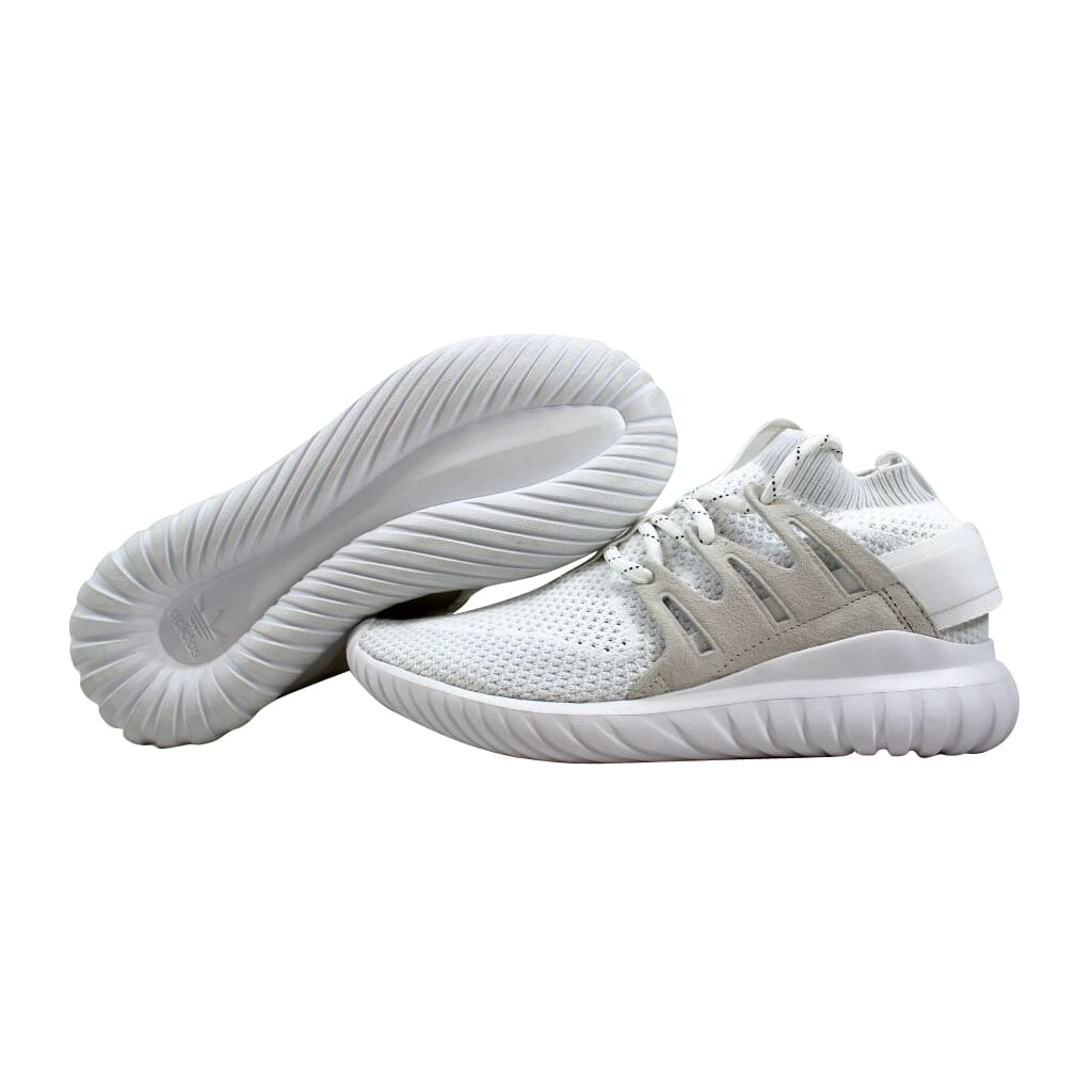 low priced de34d 61d46 Details about Adidas Tubular Nova PK White S80106 Men's SZ 7