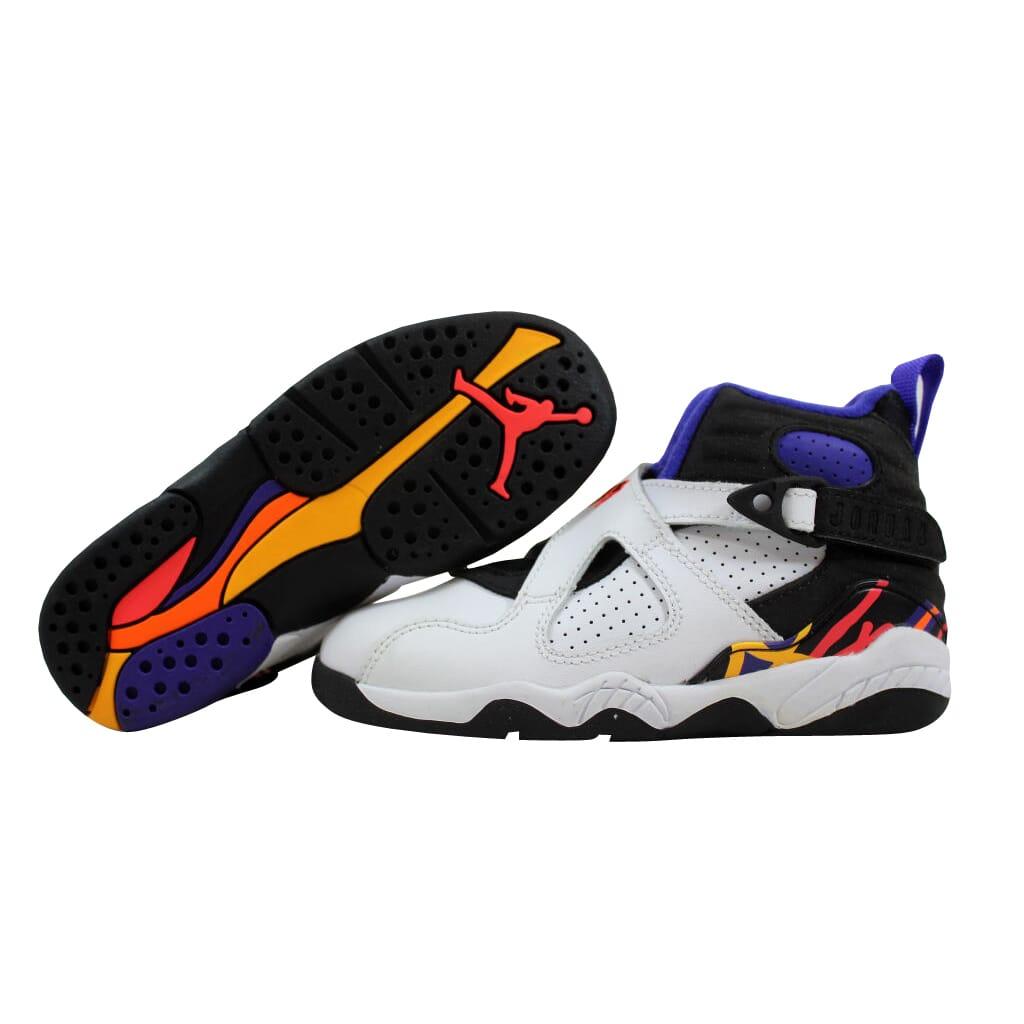 2b925bfcf1a05 Nike Air Jordan VIII 8 Retro White Infrared 23-Black Suns 305369-142 ...