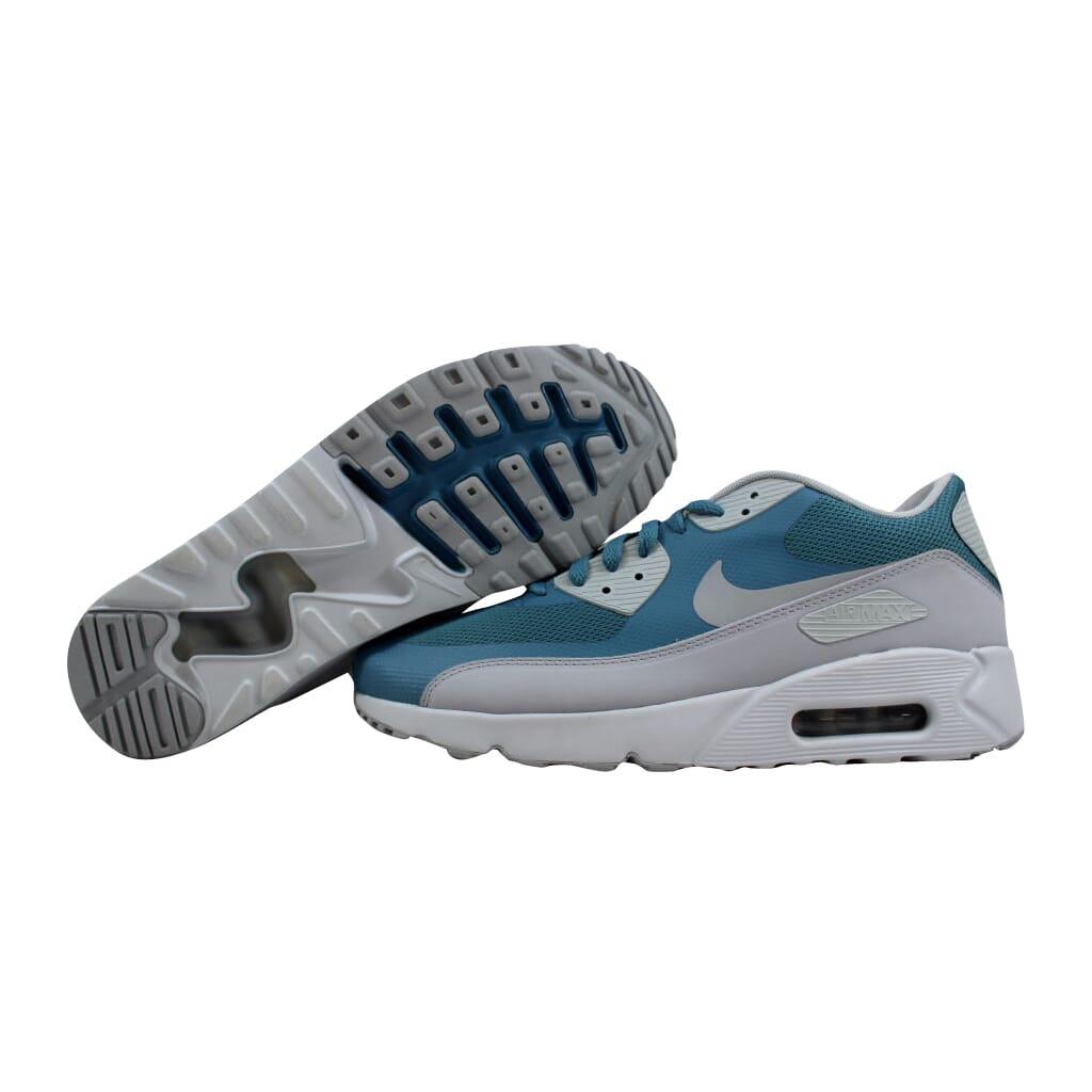 Nike Air Max 90 Ultra 2.0 Essential Smokey Blue Wolf Grey 875695-001 ... a5cd8ed98