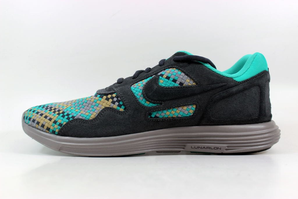 new concept a84aa f6298 Nike Lunar Flow Woven QS Anthracite Black-Bamboo 526636-007 Men s Size 12